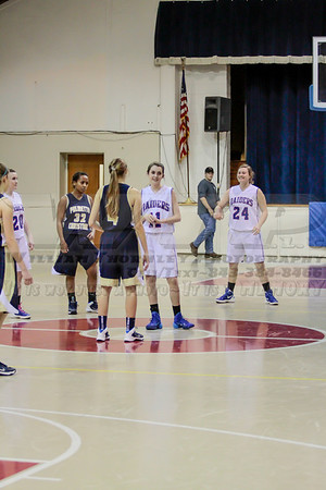 HHA Girls V vs Palmetto Christian Academy 1-14-14
