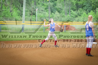 HHA vs Clarendon Hall Softball 4-29-14