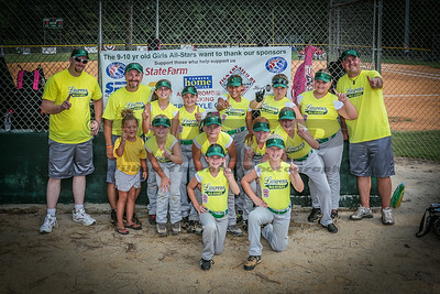 Laurens all stars 7-10-14